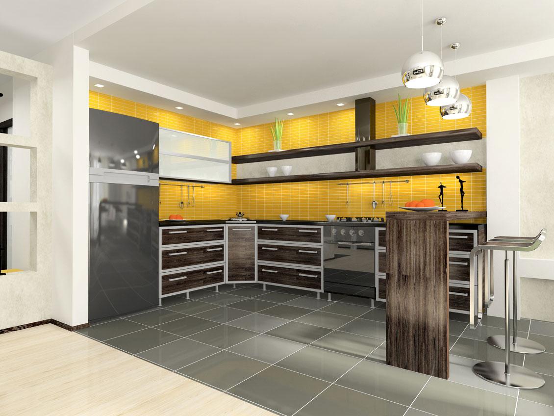 Kolorowe kuchnie na wymiar
